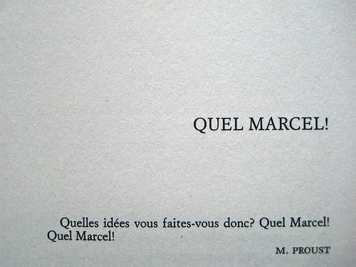 Mario Lavagetto, Quel Marcel!; Einaudi 2011. [resp. grafica non indicate], alla cop.: Claude Monet, Ninfee, 1916-19/Musée Marmottan Monet/Foto Lessing-Contrasto. p. dell'esergo (part.), 1