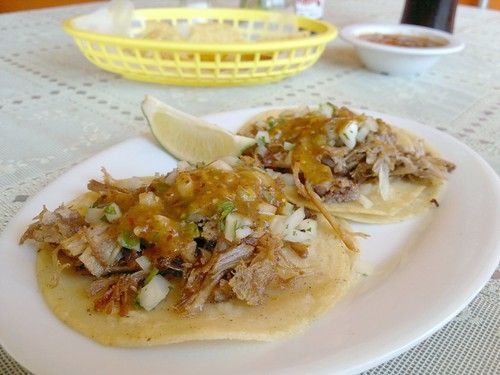 Two Carnitas Tacos