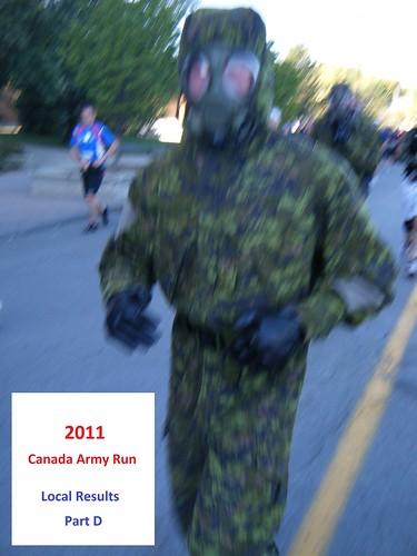 Canada Army Run 2011  local results  photos  Part D
