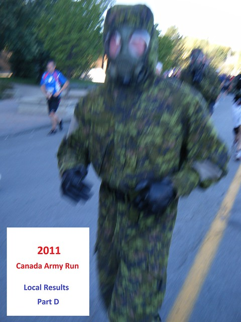 Canada Army Run 2011: local results, photos (Part D)