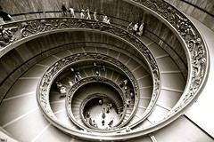 The Spiral Walk, The Vatican Museum Rome (Alex E. Proimos) Tags: vatican rome museum way spiral walk vaticano the