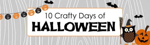 10 Crafty Days of Halloween Banner