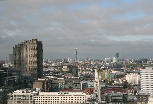 Towards the BT Tower