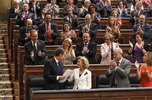 Zapatero en su última sesión de control
