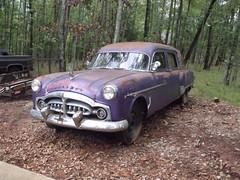 1951 Packard Henney Endloader Combination (2011) (stevenbr549) Tags: purple engine 8 ambulance commercial cylinder series inline 51 300 24th hearse combination packard 1951 327 henney endloader