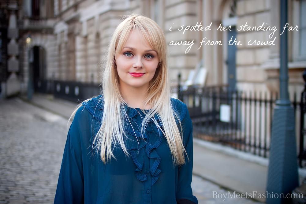 Soft Spoken Blonde