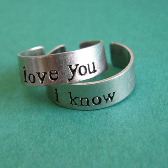coolest wedding rings ever image - Coolest Wedding Rings