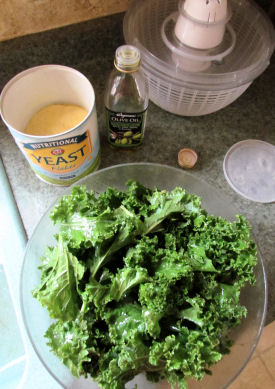 Kale with Olive Oil