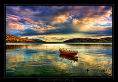 Automn Sky... (ktania) Tags: blue red sky mountain lake color colors canon landscape photography photo flickr raw cityscape greece tamron hdr photographyart artphotography kastoria landscapephotography excelente 400d canon400d kardpostal taniaphotography tamron18250f35 taniakoleska ktania