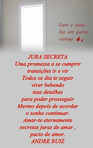 JURA SECRETA by amigos do poeta