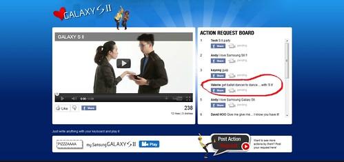 I Love Samsung Galaxy SII Video2