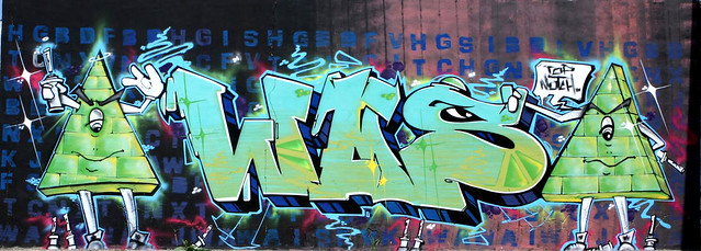 128 WAS GRAFFITI MALAGA