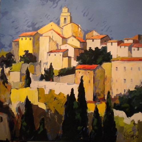 French Riviera     Painting Original