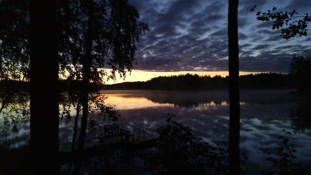 waking up in sysmä