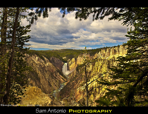 Having a Grand Time at the Grand Canyon of the Yellowstone by Sam Antonio Photography