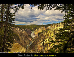Having a Grand Time at the Grand Canyon of the Yellowstone (Sam Antonio Photography) Tags: park trees sky nature clouds landscape waterfall montana outdoor grandcanyon national yellowstone wyoming lifehack travelphotography flickrexplore canon5dmkii photographyguide samantonio samantoniophotography