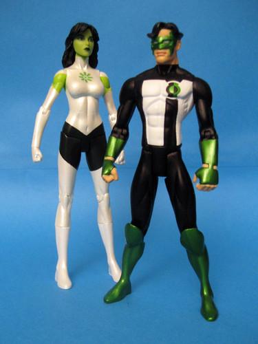 Jade and Kyle Rayner