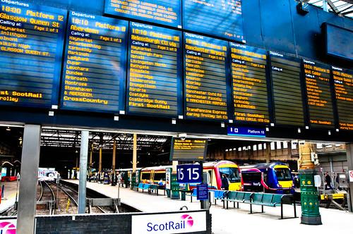 Waverley Station Edinburgh Scotland Edinburgh Scotland Waverley