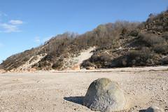 Glacial Erratics and Coastal Bluff (sandy richard) Tags: geology wildwood wildwoodstatepark newyorkstateparks longislandbeaches sandyrichard longislandgeology sandrarichard wildwoodstateparkgeology
