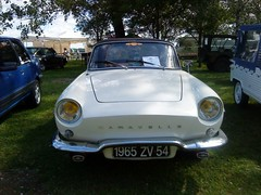 renault Caravelle (kity54) Tags: auto old white classic cars car de automobile lac convertible voiture renault coche older blanche 2010 ancienne ancien cabriolet caravelle vhicule losange madine rtromeuse