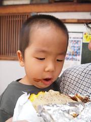 「やきや」 名古屋 大須 お好み焼き(モダン焼き)