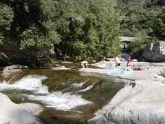 DSCN2796 (drayy) Tags: trip travel mountain holiday france water pool rock swim stream europe corse corsica refreshing rockpool zoza zozarockpools
