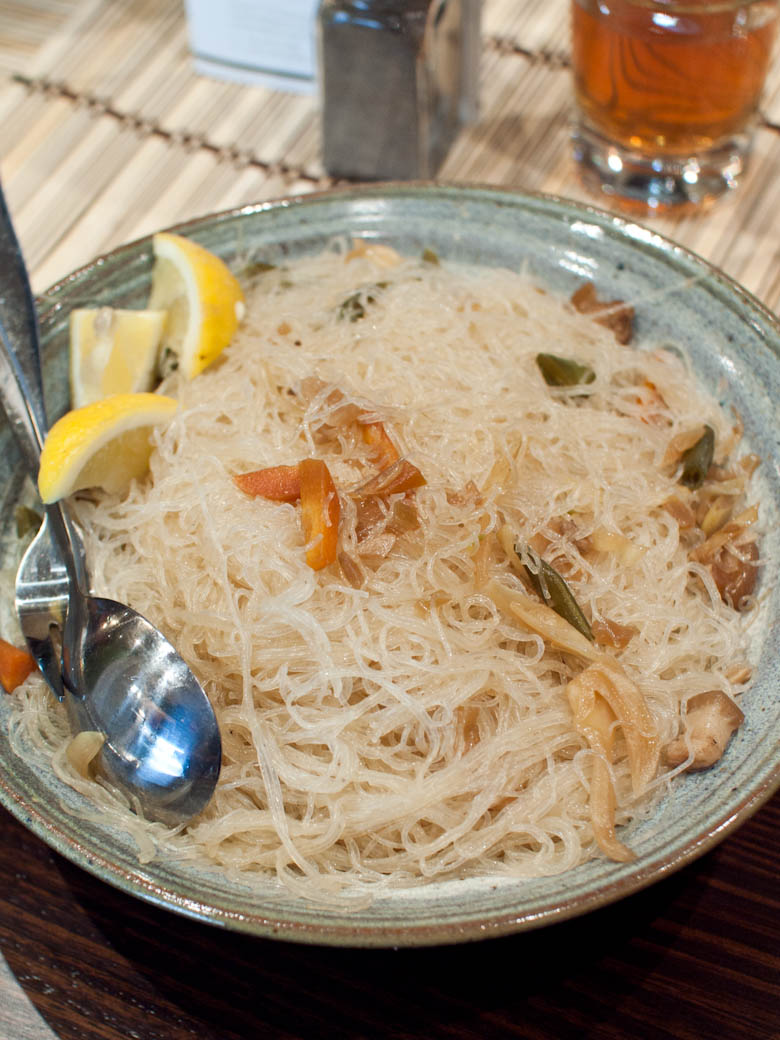 Dahon Tea Lounge - Pancit (Filipino Noodles)