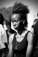 Street Candid Portrait Photography (Notting Hill Carnival)