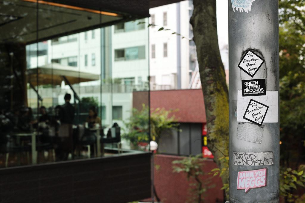 Sticker art in Tokyo