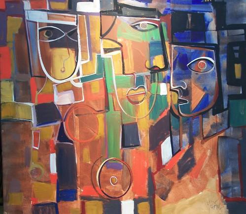 Cubism - Original Painting