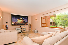 Movie room (www.mattselbyphotography.co.uk) Tags: real estate cls pfre