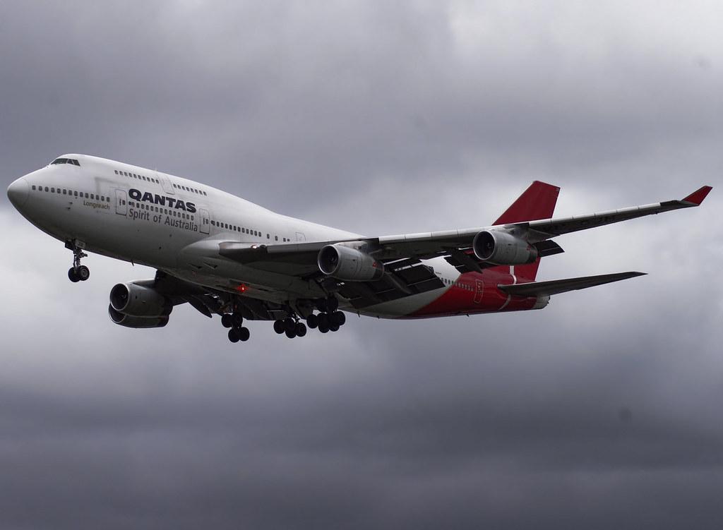 VH-OJM / Boeing 747-438 / 25245/875 / Qantas