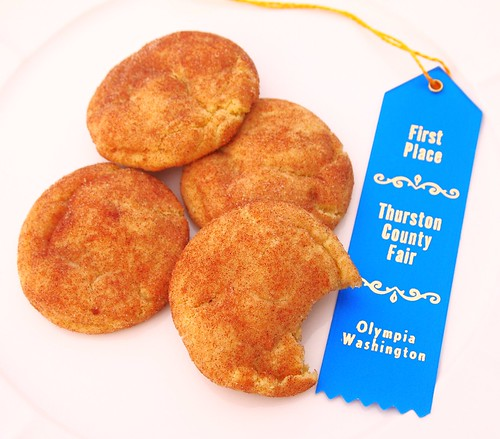 Blue Ribbon Snickerdoodles