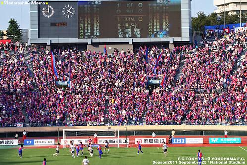 FC東京vs横浜FC 国立競技場