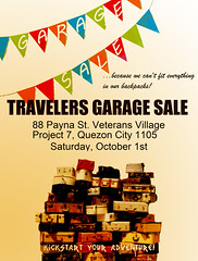 Travelers Garage Sale