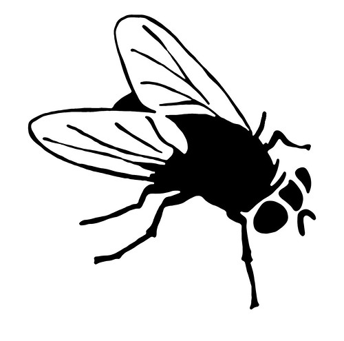 dove volano le mosche (by Hogre) - timbro