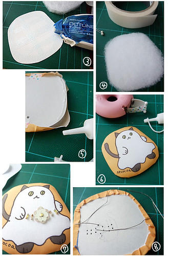 How to make Halloween ghost cat charm 2