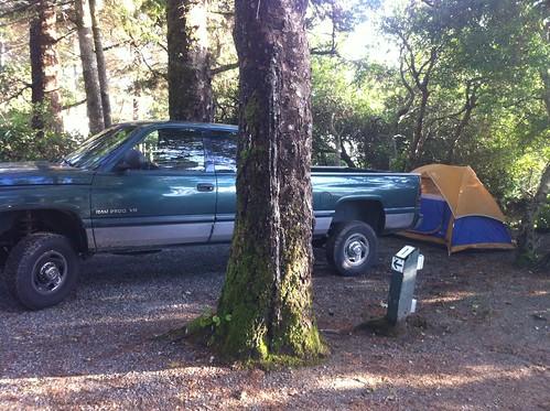 Campground, Tofino