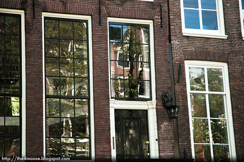 Amsterdam - Canal House Windows