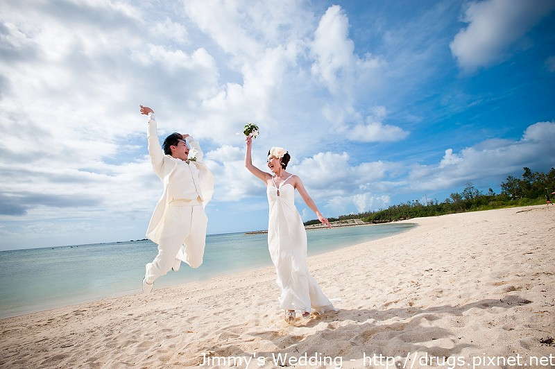 沖繩海灘婚紗
