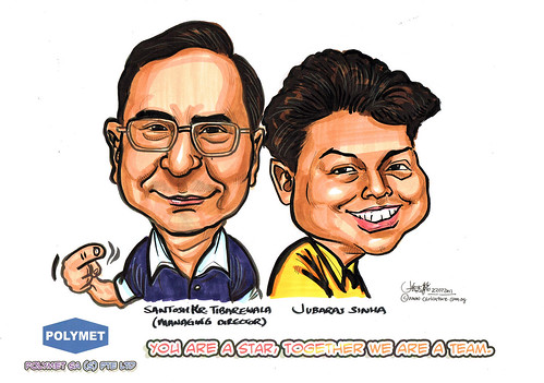 Caricatures for Polymet - 16