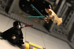 Good vs. Evil (Louis K.) Tags: light two dead lego good hangar evil saber jedi laser lightsaber vs alive sith preview lightsabre ncs inception epicness
