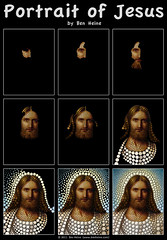 Work in Progress - Jesus (Ben Heine) Tags: life christmas portrait celebrity art history love face hair beard death hope colorful king peace humanity god earth contemporary circles magic faith father jerusalem prayer religion jesus birth workinprogress creative belief voice kingdom galilee noel before pop popart creation amour believe knowledge after christianity guide judaism popculture bethlehem messianic technique opium nativity prophet scripture gospel humanbeing existence dieu visage jesuschrist cercle paix babel pre purity christianism testament espoir depiction prire jesusofnazareth croyance benheine jsusdenazareth digitalcirclism