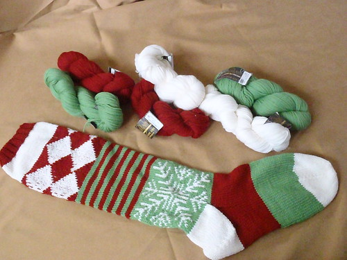 Christmas Stockings for Nephews! - WIP UP