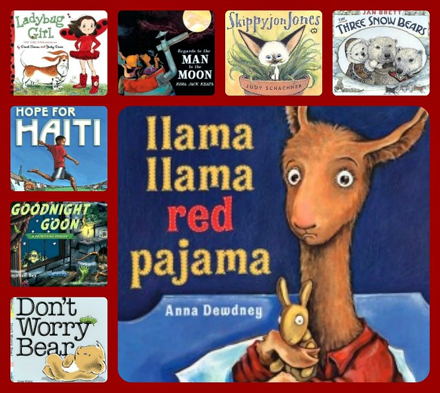 Llama Llama Red Pajama Collage