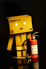 Just in case..... (Daniel Y. Go) Tags: toy nikon philippines 70 fireextinguisher danbo d7k d7000 nikond7000 nikond7k gettyimagesphilippinesq1