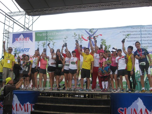 Camsur Marathon 2011: Planting Trees