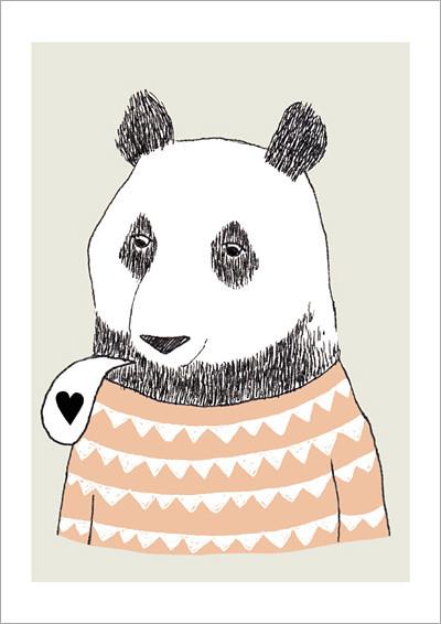 bear_A4 print