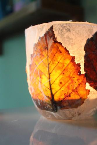 Fall Leaf Lantern