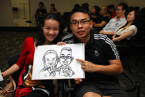 caricature live sketching for iFast Financial Pte Ltd - 11